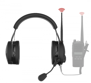 Il est possible d'ajouter la liaison radio directement dans le casque.