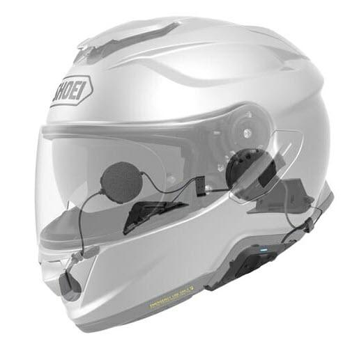 Le Sena SRL2 s'intègre à la perfection dans le casque Shoei GT Air II