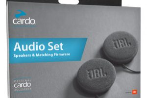 Boite du cardo audio set de 45mm