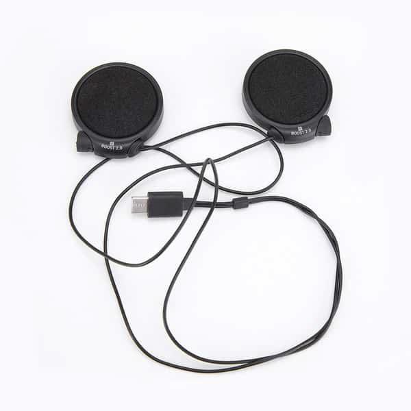 Les micros sont intégrés dans les écouteurs